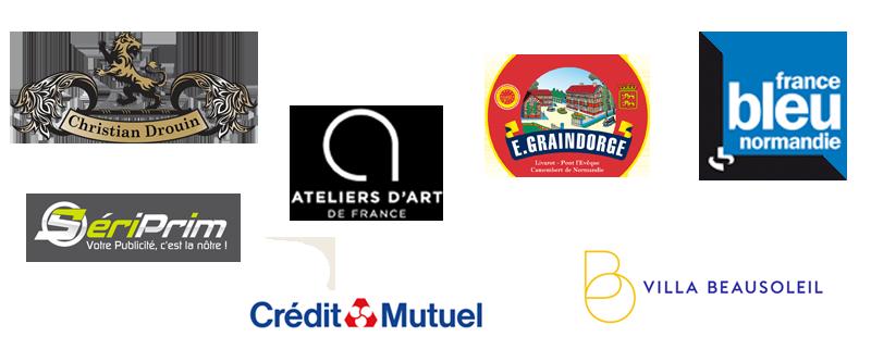 partenaires salon du verre honfleur 2019